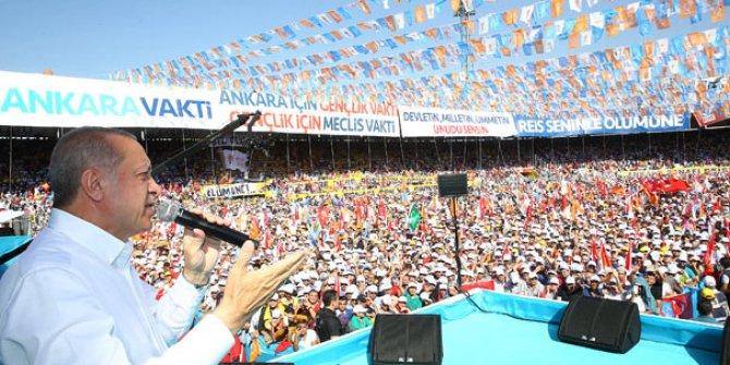 Cumhurbaşkanı Erdoğan'dan Ankara'ya peş peşe müjdeler