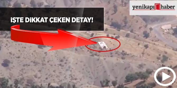 İşte PKK'nın bulunduğu Kandil Dağı'ndan görüntüler