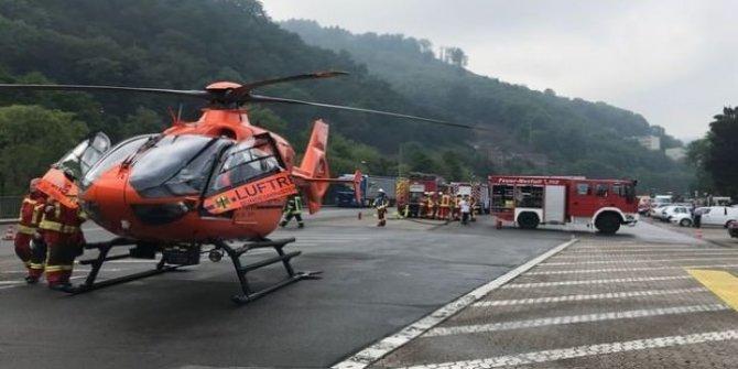 Almanya'da korkunç olay: 5 Türk ağır yaralı