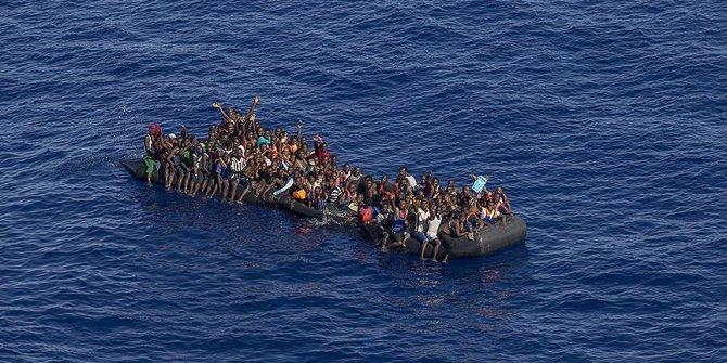 Libya'da 800 kaçak göçmen kurtarıldı!