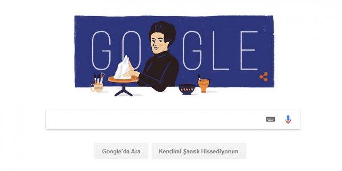 Google'dan sanatçı Füreya Koral'a özel doodle