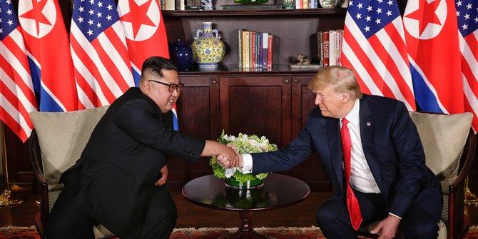 Trump - Kim zirvesi ABD basınında!38 dakika baş başa