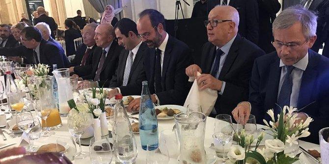 Fransa Başbakanı Philippe iftara katıldı