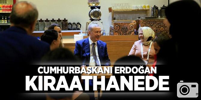 Cumhurbaşkanı Erdoğan kıraathanede