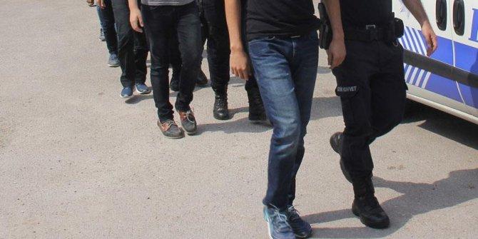 Antalya'da FETÖ'nün 'hücre evleri'ne operasyon