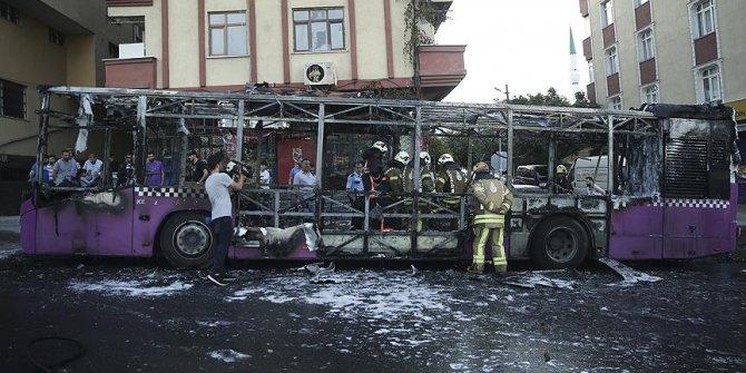 İstanbul'da faciadan dönüldü! Halk otobüsü..