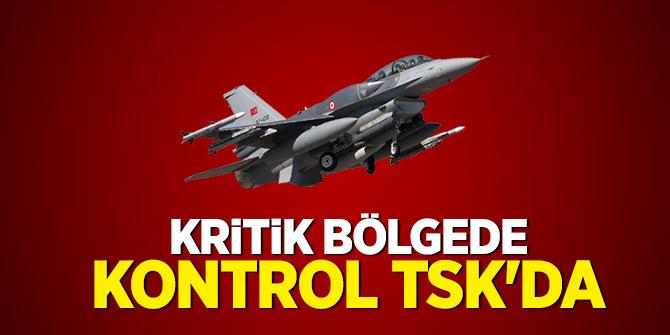 Kritik bölgede kontrol TSK'da