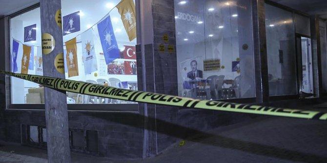 AK Parti seçim bürosuna ses bombası atıldı
