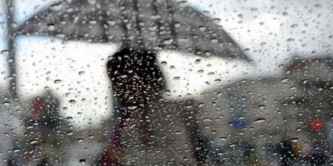 Meteoroloji uyardı! Sağanak yağış geliyor