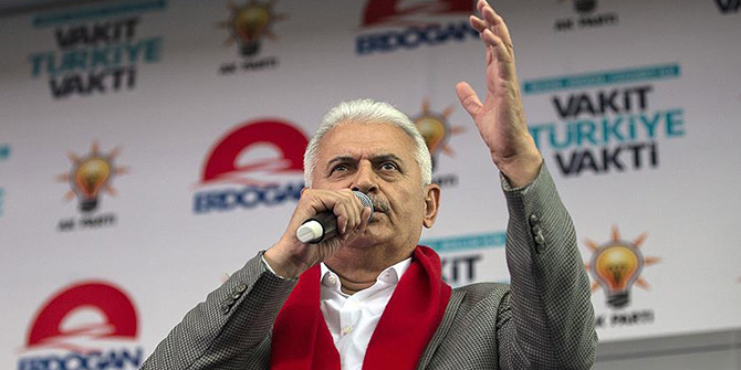 """""""AK Parti'nin yaptıkları, yapacaklarının teminatıdır."""""""