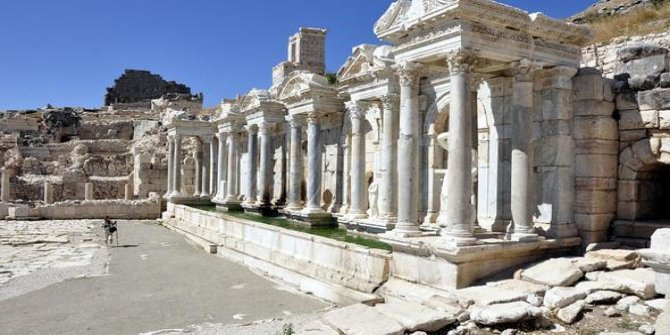 Sagalassos Antik Kenti sizleri bekliyor