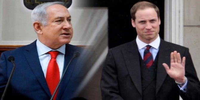 İngiliz Prens'in sözleri İsrail'i çıldırttı!