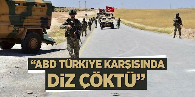 Cuma: ABD Türkiye karşısında diz çöktü