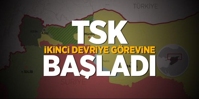 TSK, ikinci devriye görevine başladı