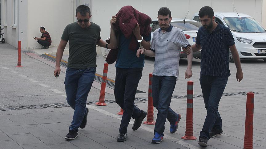Bacanak Ökkeş Tetik gözaltına alındı.