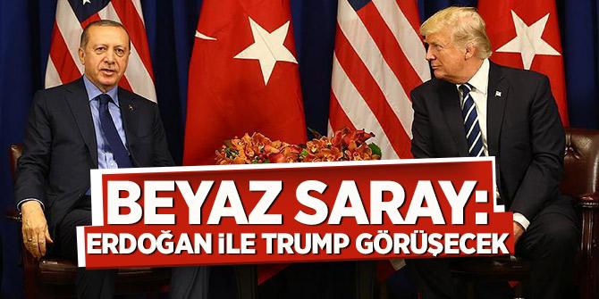 Beyaz Saray: Erdoğan ile Trump görüşecek