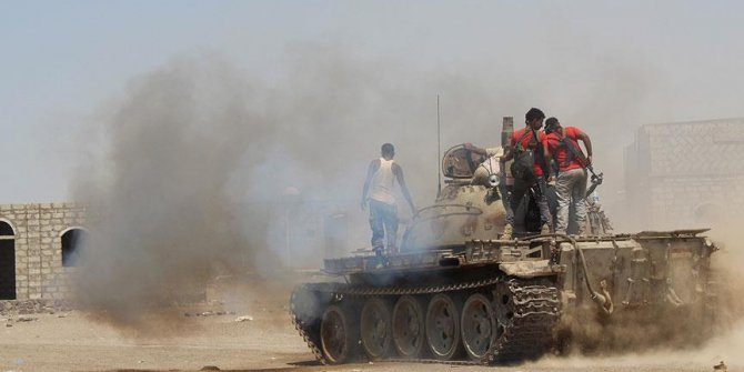 Yemen'de ordu güçlerinin ilerleyişi devam ediyor