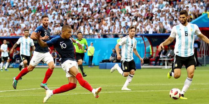 Çeyrek finalist 4 golle Fransa oldu