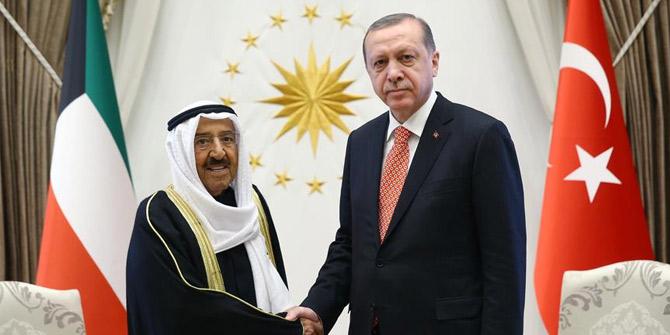 Cumhurbaşkanı, Kuveyt Emiri ile telefonda görüştü