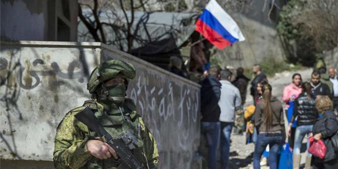Rusya'nın çekilmesi Şam'a bağlı