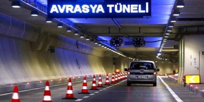 Avrasya Tüneli geçiş ücretine 1 Temmuz'dan itibaren zam