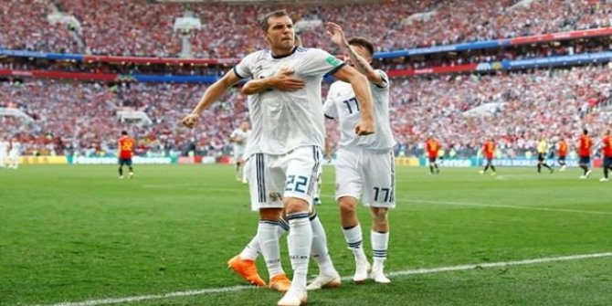 Rusya İspanya'yı penaltılarda yendi