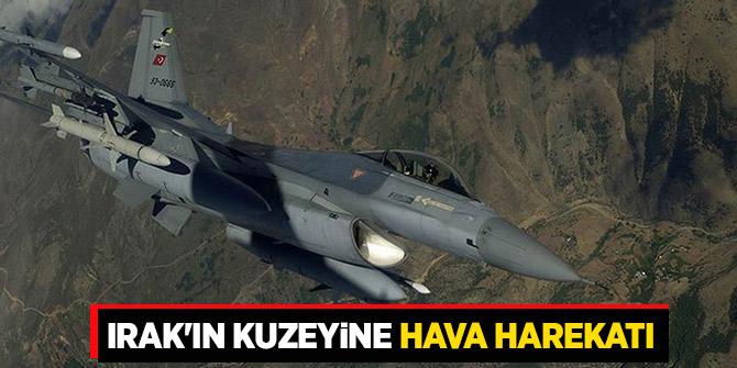 Avaşin-Basyan ve Zap bölgelerine hava harekatı!