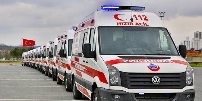 Ambulanslarda yeni sistem yolda