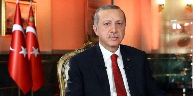 Erdoğan'dan tren kazasıyla ilgili taziye mesajı
