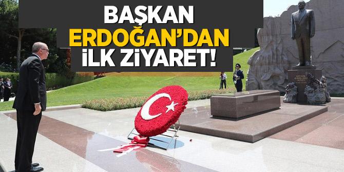 Başkan Erdoğan Azerbaycan'da