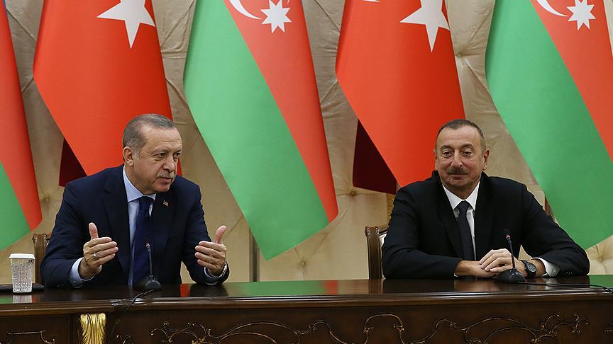 Erdoğan ve Aliyev'den ortak tavır
