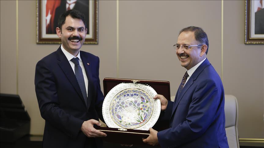 Murat Kurum, görevi  devraldı