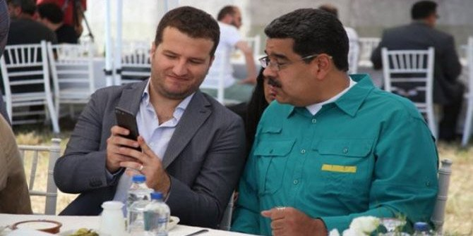 Maduro Diriliş setini ziyaret etti