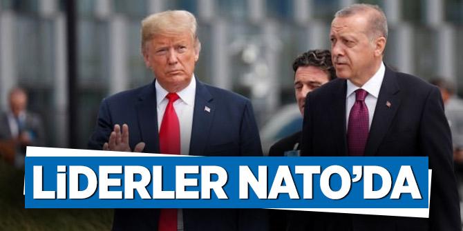 Dünya Liderleri NATO Zirvesinde