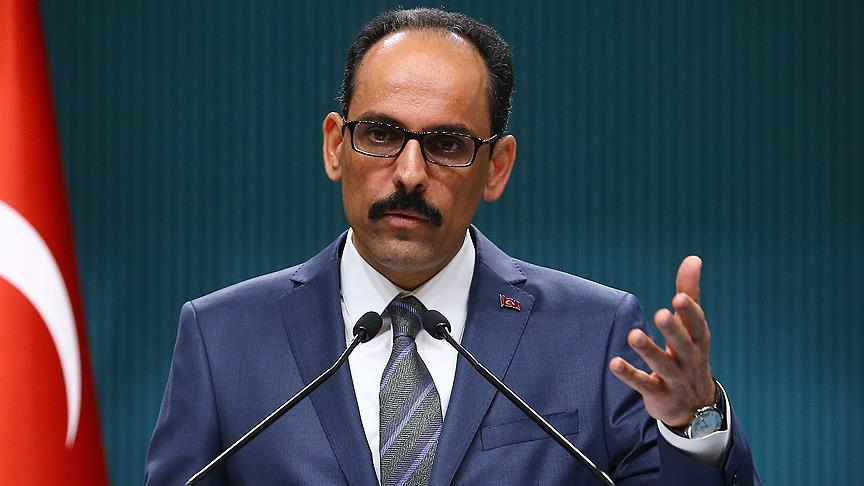 İbrahim Kalın'ın NSU davası kararı ile ilgili açıklama!