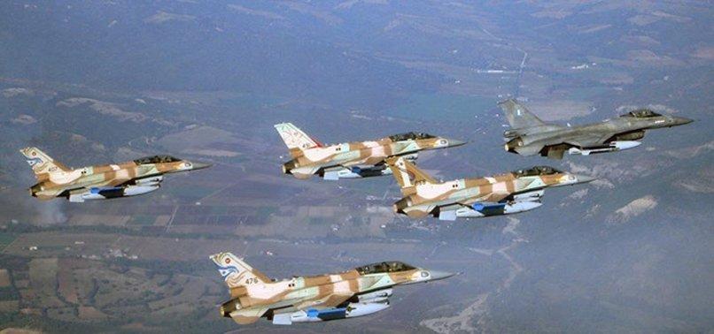 İsrail füzeleri fırlattı! İnsansız hava aracı düştü