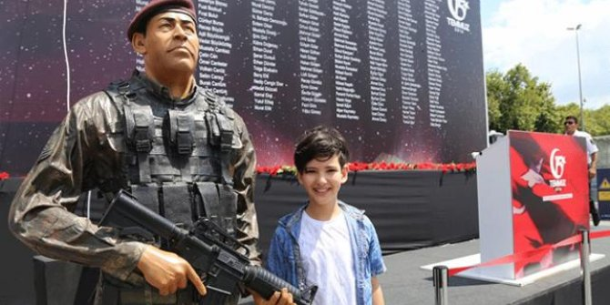 Taksim Meydan'ında bir yiğit: Ömer Halisdemir