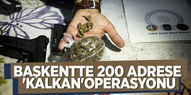200 adrese helikopter destekli şafak operasyonu! Yer Ankara