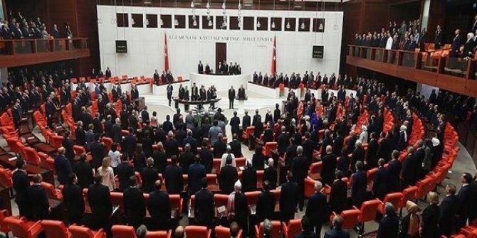 Meclis Başkanlığı 1. turu başladı