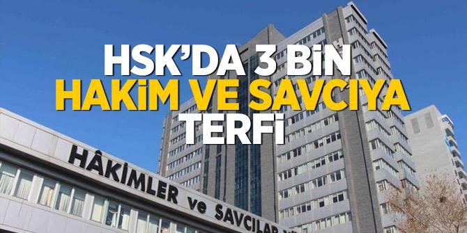 HSK'da 3 bin hakim ve savcıya terfi