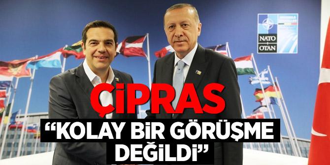 Çipras'tan Cumhurbaşkanı Erdoğan'la görüşme yorumu