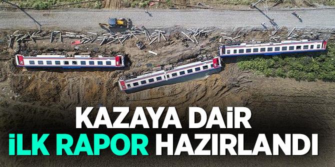 Çorlu'daki tren kazasına dair ilk rapor