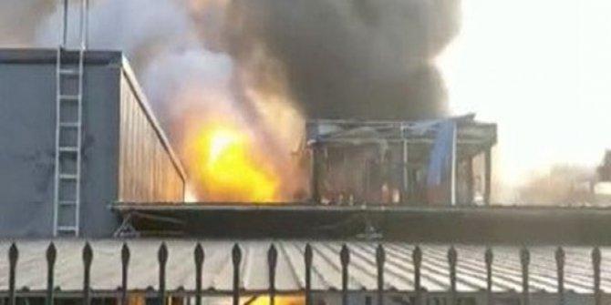 Çin'de patlama: 19 ölü, 12 yaralı