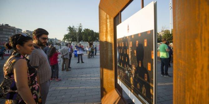 Taksim Meydanı'nda 15 Temmuz sergisi