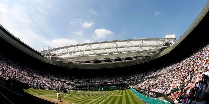 Wimbledon'da yarı finalin galibi Anderson