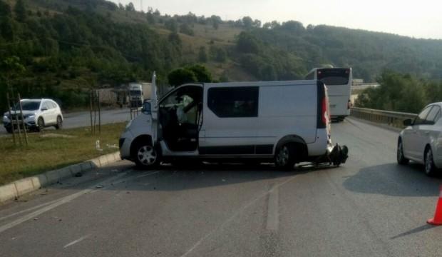 Samsun'da  kaza! Sabah saatlerinde  meydana geldi.