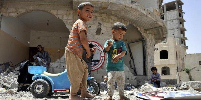 Kuveyt'ten Yemenli çocuklar için maddi yardım