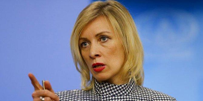 Butina'nın tutuklanmasına Zaharova'dan tepki!
