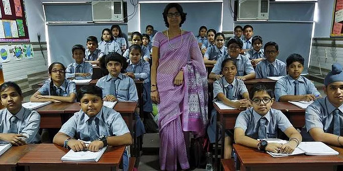 Hindistan'da mutluluk dersi