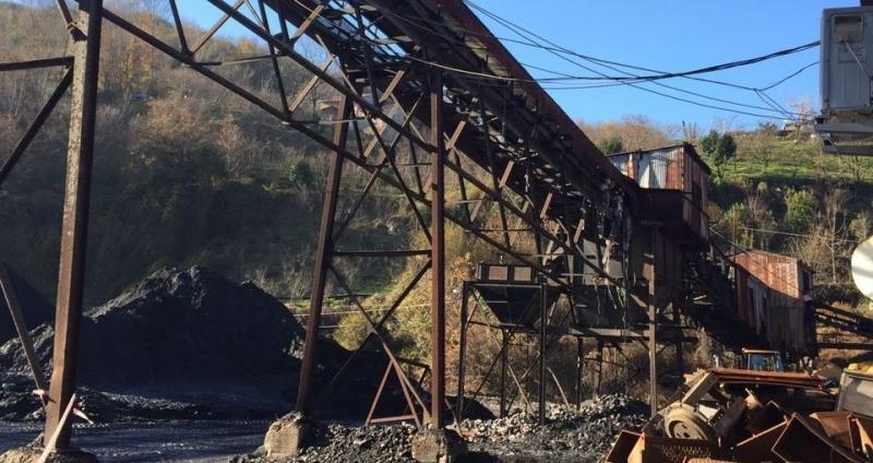 Kömür bandı çöktü: 9 yaralı